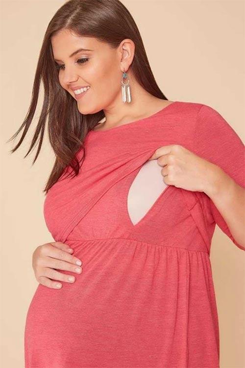 Tunika s otvorom pre dojčenie