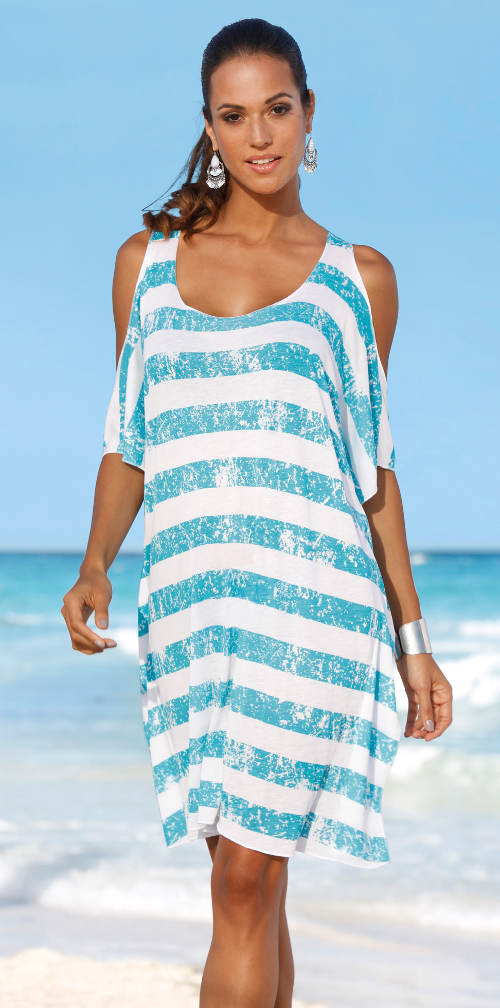 Plážové tričko cez plavky
