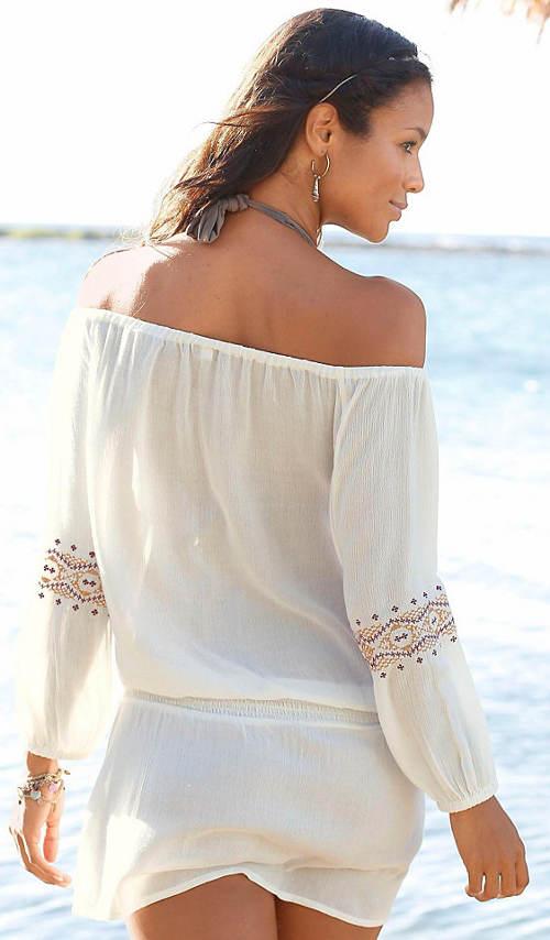 Ľahké šaty k moru