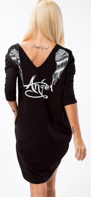 Anjelská tunika s krídlami na chrbte